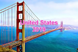 Working Days in USA in 2019