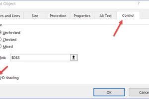 How to Insert a Checkbox in Excel