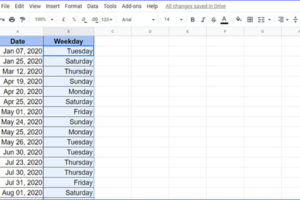 How to Highlight Weekends in Google Sheets