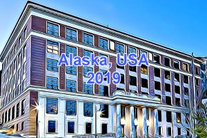 Working Days in Alaska, USA in 2019