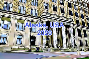 Working Days in Alaska, USA in 2020