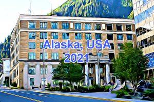 Working Days in Alaska, USA in 2021