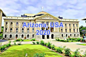 Working Days in Arizona, USA in 2020