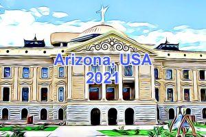 Working Days in Arizona, USA in 2021