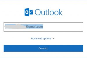 How to Add an Gmail Account to Outlook