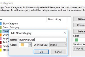 How to Categorize Contacts in Outlook