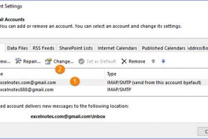 How to Change the Display Name in Outlook