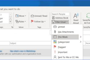 How to Show Emails Received Today or Yesterday in Outlook