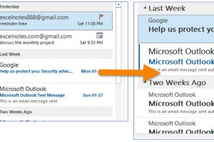 How to Change the Font or Font Size in the Message List in Outlook