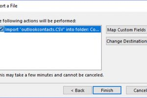 How to Import Contacts from the Excel or CSV File into Outlook