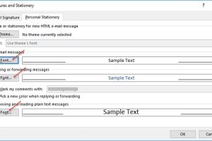 How to Set the Default Message Format in Outlook