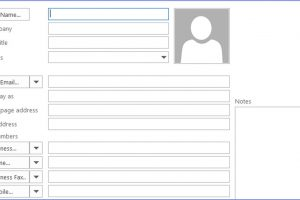 How to Create a New Contact in Outlook