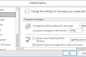 How to Set up to Play a Sound When a New Message Arrives in Outlook