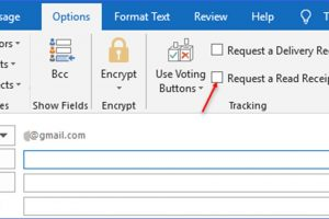 How to Request a Read Receipt in Outlook