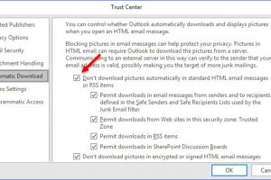 How to Always Show Images in Outlook Messages