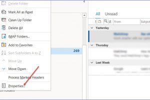 How to Check Total Message Count in an Outlook Folder