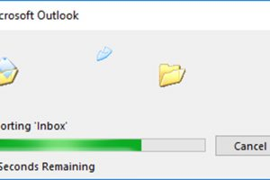 How to Save Outlook Folders on Hard Drive