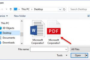 How to Use Word to Open PDF Files