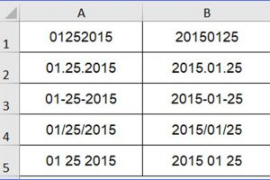 How to Convert Text to Date Format (100 examples)