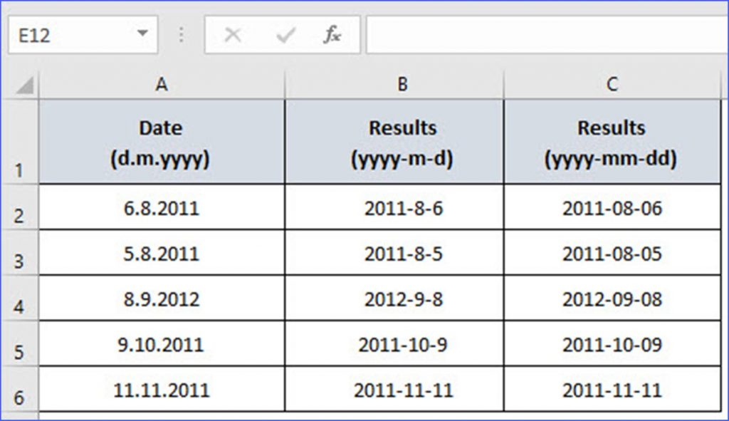 How we can format date through VBA?