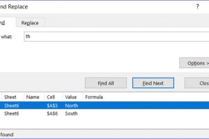"""Shift+F5: """"Find and Replace"""" Window"""