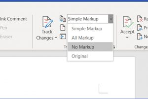 How to Track and Accept Changes in Word