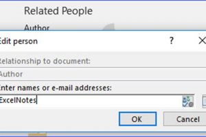 How to Edit File Properties in Word