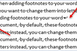 How to Insert a Line Break in Word
