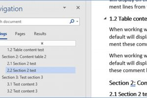 How to Display the Navigation Pane in Word