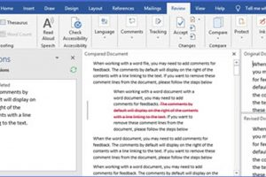 How to Know Changes if they are Not Tracked in Word