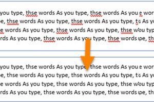 How to Remove the Wavy Red Lines in Word