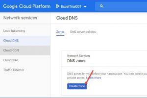 How to Create Cloud DNS Zone on Google Cloud Platform