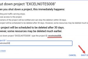 How to Delete a Project on Google Cloud Platform