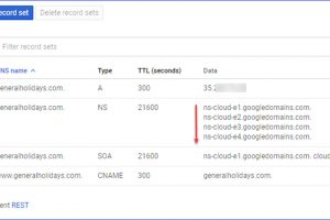 How to Get Cloud DNS Zone on Google Cloud Platform