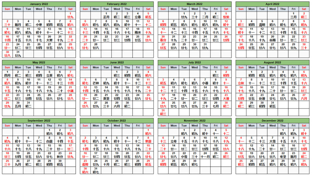 Moon Calendar February 2022.Chinese Calendar February 2022 Excelnotes
